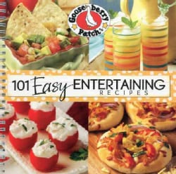 101 Easy Entertaining Recipes Cookbook (Paperback)