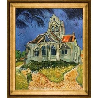 Van Gogh 'Church at Auvers' Hand-painted Oil Canvas