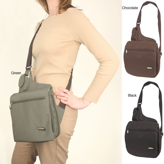 Travelon Messenger Style Shoulder Bag Travelon Large Messenger Style