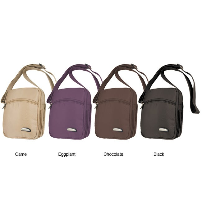 Travelon 3-compartment Expandable Shoulder Bag