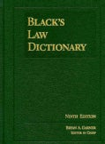 Black's Law Dictionary (Hardcover)