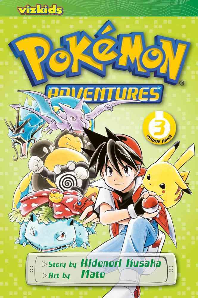 Pokemon Adventures 3 (Paperback)