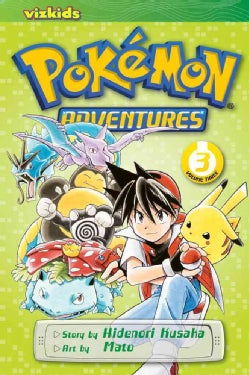 Pokemon Adventures 3 (Paperback)