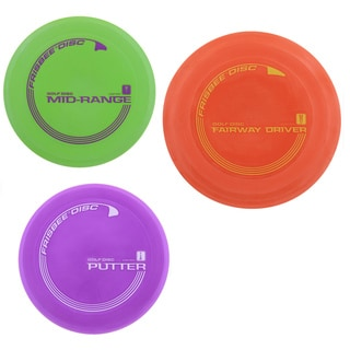 Frisbee Golf Starter Set (Pack of 3)