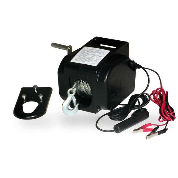 Portable 2000-pound 12-volt Winch