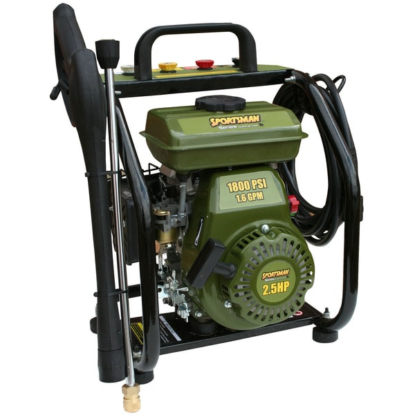 Gas-power 1800 psi Pressure Washer