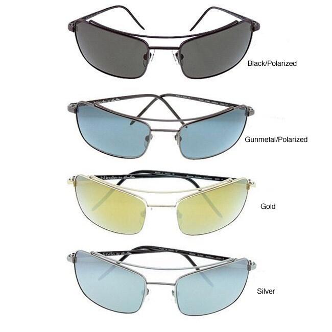 Blinde Design Men's 'Double Bridge Bambino' Sunglasses
