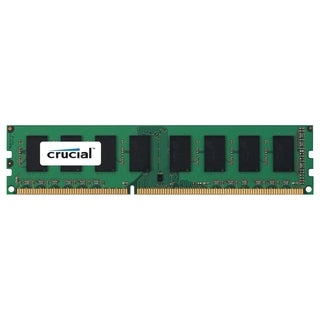 Crucial 2GB, 240-Pin DIMM, DDR3 PC3-8500 Memory Module