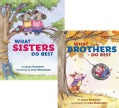 What Sisters Do Best/ What Brothers Do Best: A Flip Book (Hardcover)