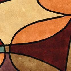 Safavieh Handmade Rodeo Drive Tiff Multicolor N.Z. Wool Rug (3'6 x 5'6)