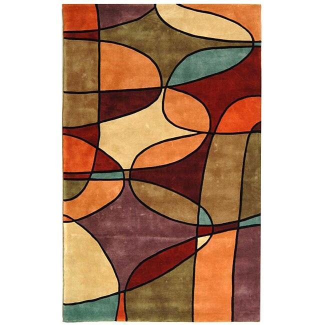 "Safavieh Handmade Rodeo Drive Tiff N. Z. Wool Rug (7' 6"" x 9' 6"")"