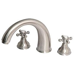 Giagni Satin Nickel Roman Tub Faucet