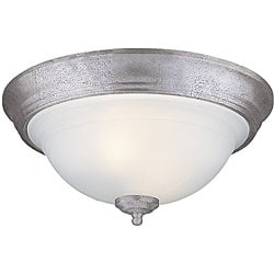 Flush-mount Two-light Fixture