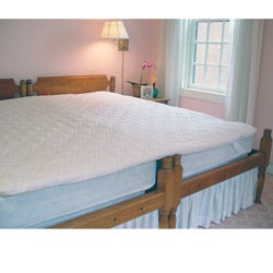 KingMaker 2-inch Twin Bed Connector Mattress Pad