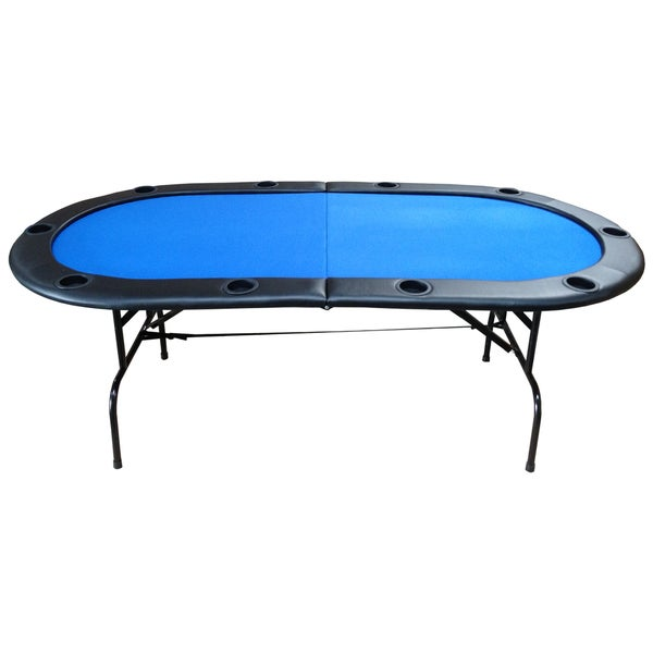 Texas Hold-em Poker Table with Folding Legs