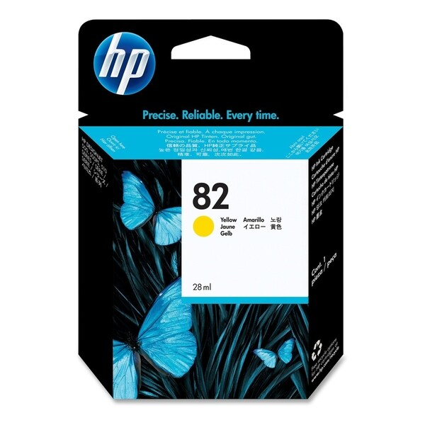 HP 82 Yellow Ink Cartridge