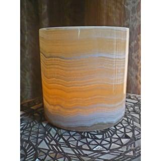 Large Alabaster Candle Holder (Egypt)