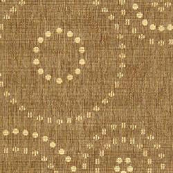 Indoor/ Outdoor Resort Brown/ Natural Rug (4' x 5'7)