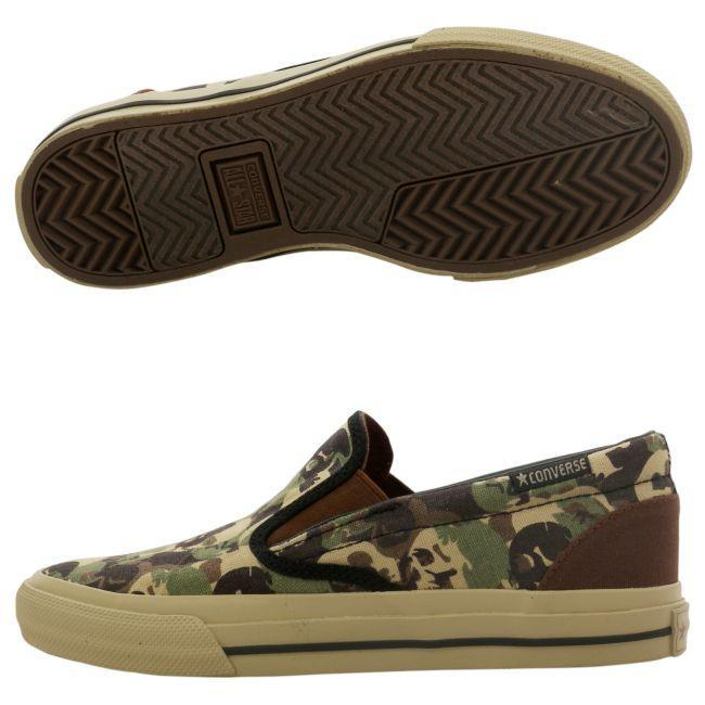 Converse Unisex Camouflage Slip-on Shoes
