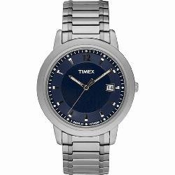 Timex Classic Indiglo Men's Stainless Steel Watch