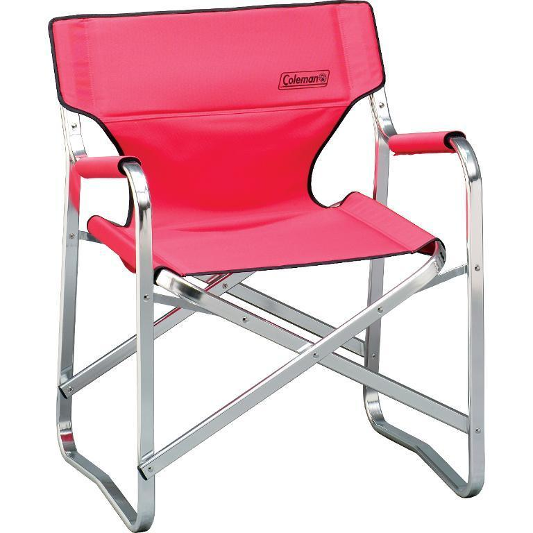 Coleman Portable Red Deck Chair 11968004