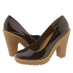 Steve Madden Michell Brown Patent Pumps/Heels