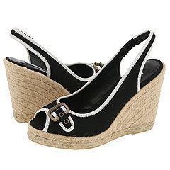 Steve Madden Cabel Black Fabric Sandals