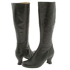 Steve Madden Shipment Grey Leather Boots