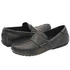 Steve Madden Riyo Grey Leather Loafers