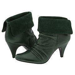 Steve Madden Applegate Green Leather Boots