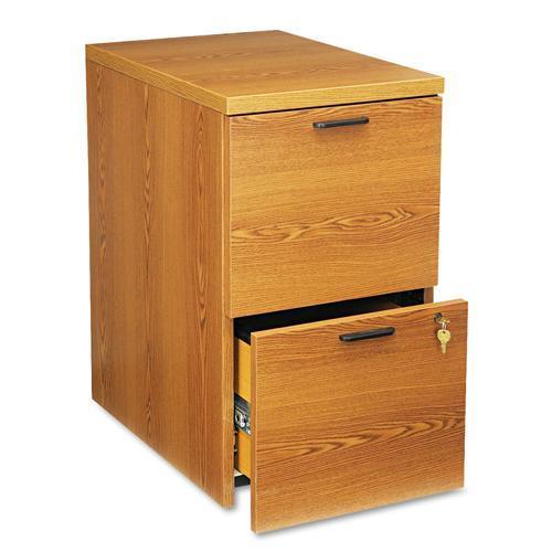 2 drawer filing cabinet oak 1
