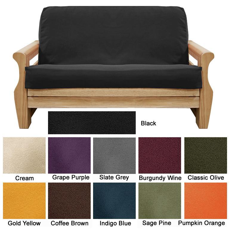 Ultra Suede Full-size Futon Cover