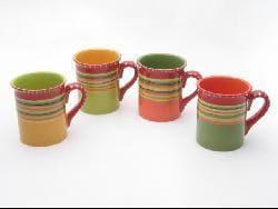 Certified International Hot Tamale Mugs (Set of 4)