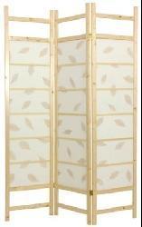 Wood 6-foot 4-panel Botanic Room Divider (China)
