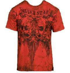 Silver Star Men's Blood Clot T-shirt
