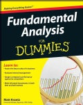 Fundamental Analysis for Dummies (Paperback)