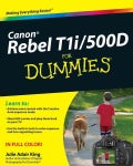 Canon EOS Rebel T1i/500D for Dummies (Paperback)