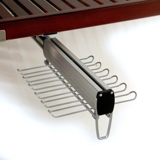 John Louis 12-inch Tie and Belt Undermount Rack