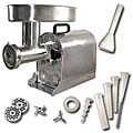 Weston Pro Stainless Steel Electric Meat Grinder/ Stuffer