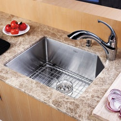 Kraus 23-inch Undermount Stainless Steel Kitchen Sink
