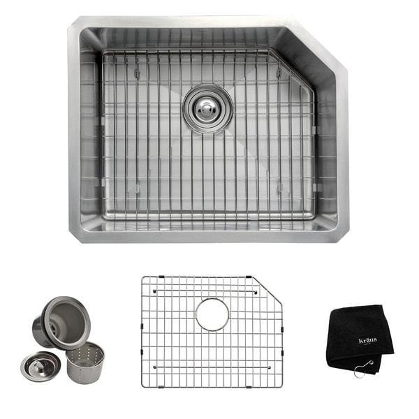 Kraus 23-inch Undermount Steel Kitchen Sink