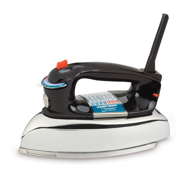 Black & Decker Aluminum Steam Iron by Applica