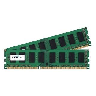Crucial 8GB Kit (4GBx2), 240-pin DIMM, DDR3 PC3-8500 Memory Module