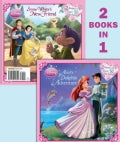 Ariel's Dolphin Adventure/Snow White's New Friend (Paperback)