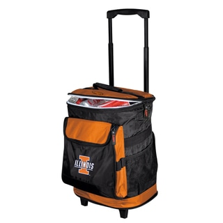 University of Illinois 'Fighting Illini' Insulated Rolling Cooler