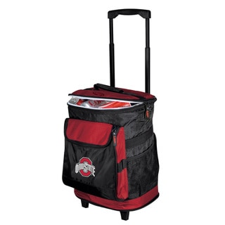 Ohio State 'Buckeyes' Insulated Rolling Cooler