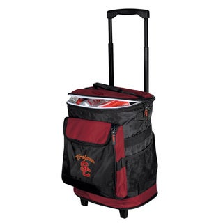 NCAA University of Southern California 'Trojans' Insulated Rolling Cooler