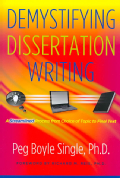 Demystifying Dissertation Writing: A Streamlined Process from Choice of Topic to Final Text (Paperback)