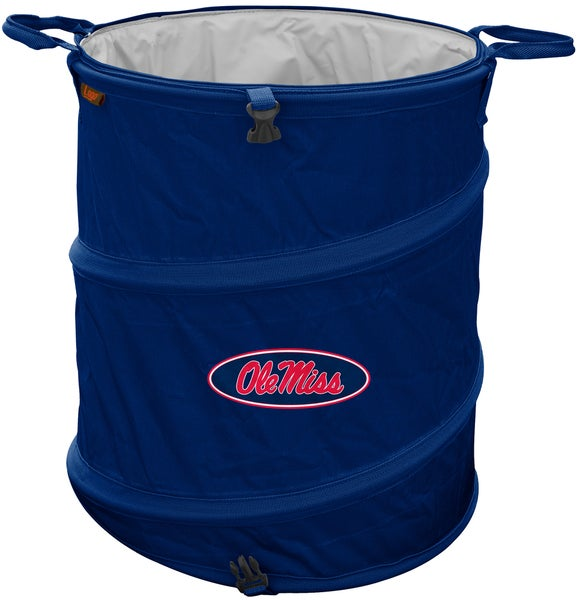 University of Mississippi 'Ole Miss' Trash Can