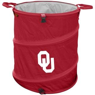 Oklahoma University 'Sooners' Trash Can